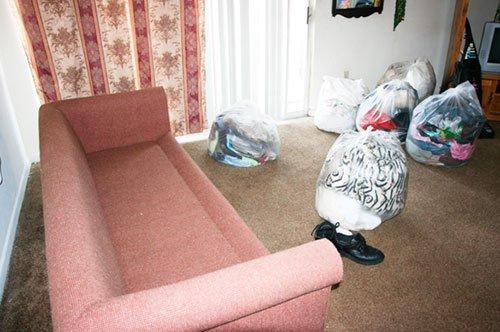 уборка в помещении