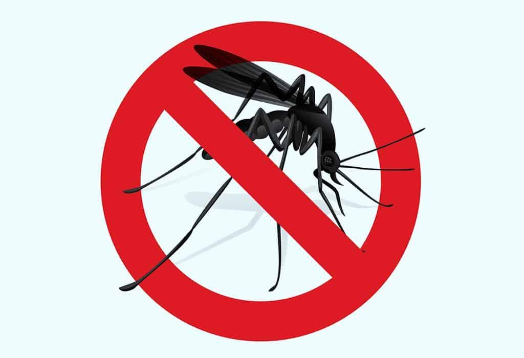знак против комаров