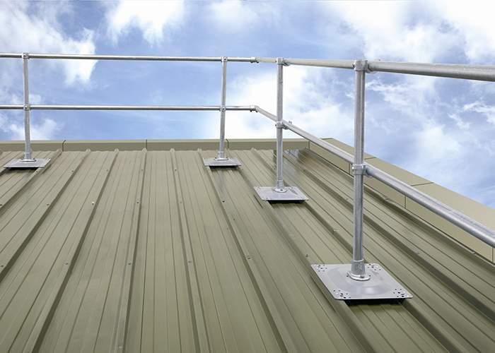 перила на крыше