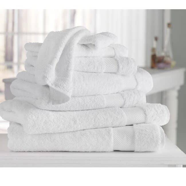 полотенца в отеле