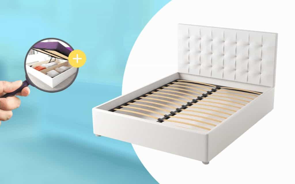 выбор кровати с подьемным механизмом